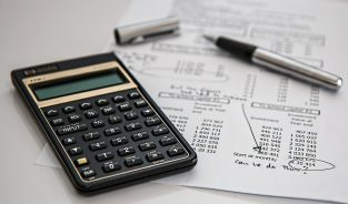 Calculator & Business Budget