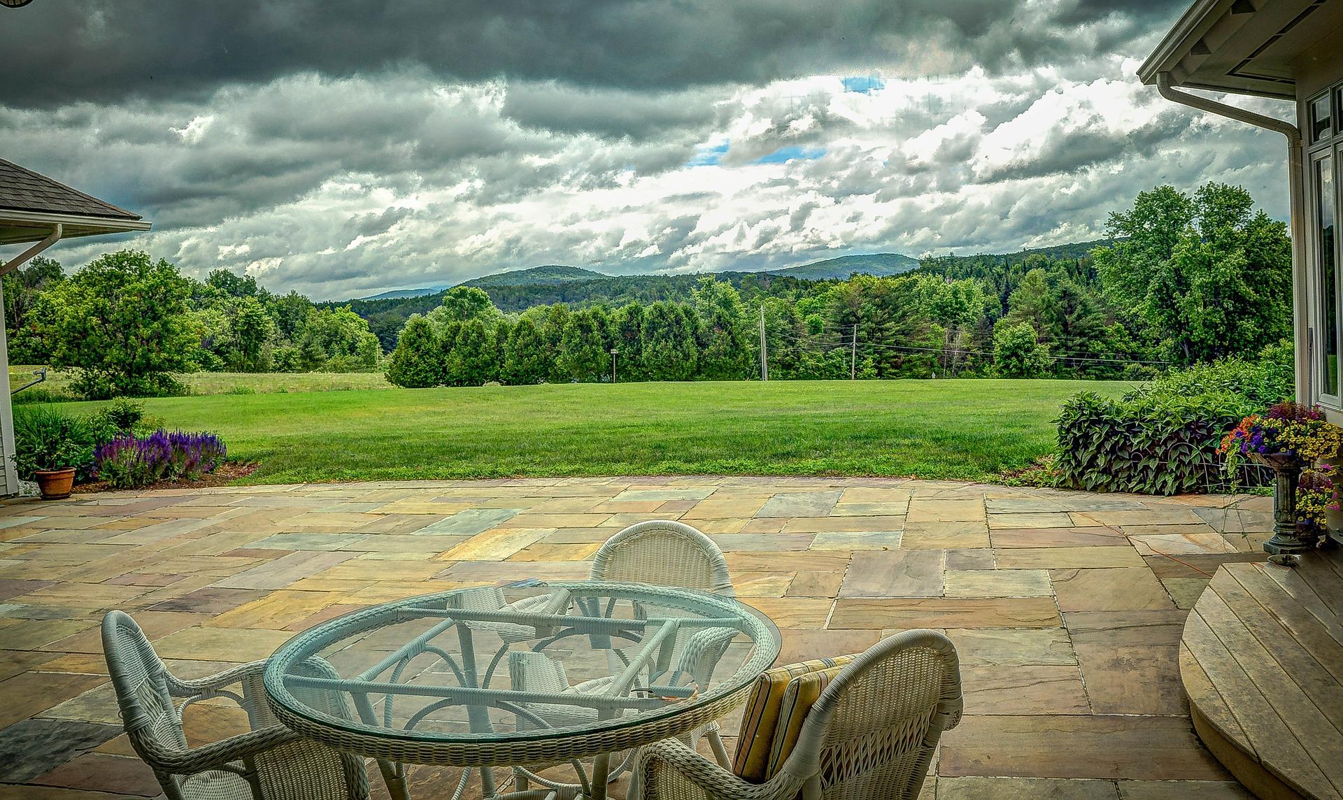 Vermont Backyard