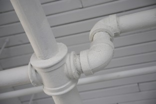 Industrial White Pipe