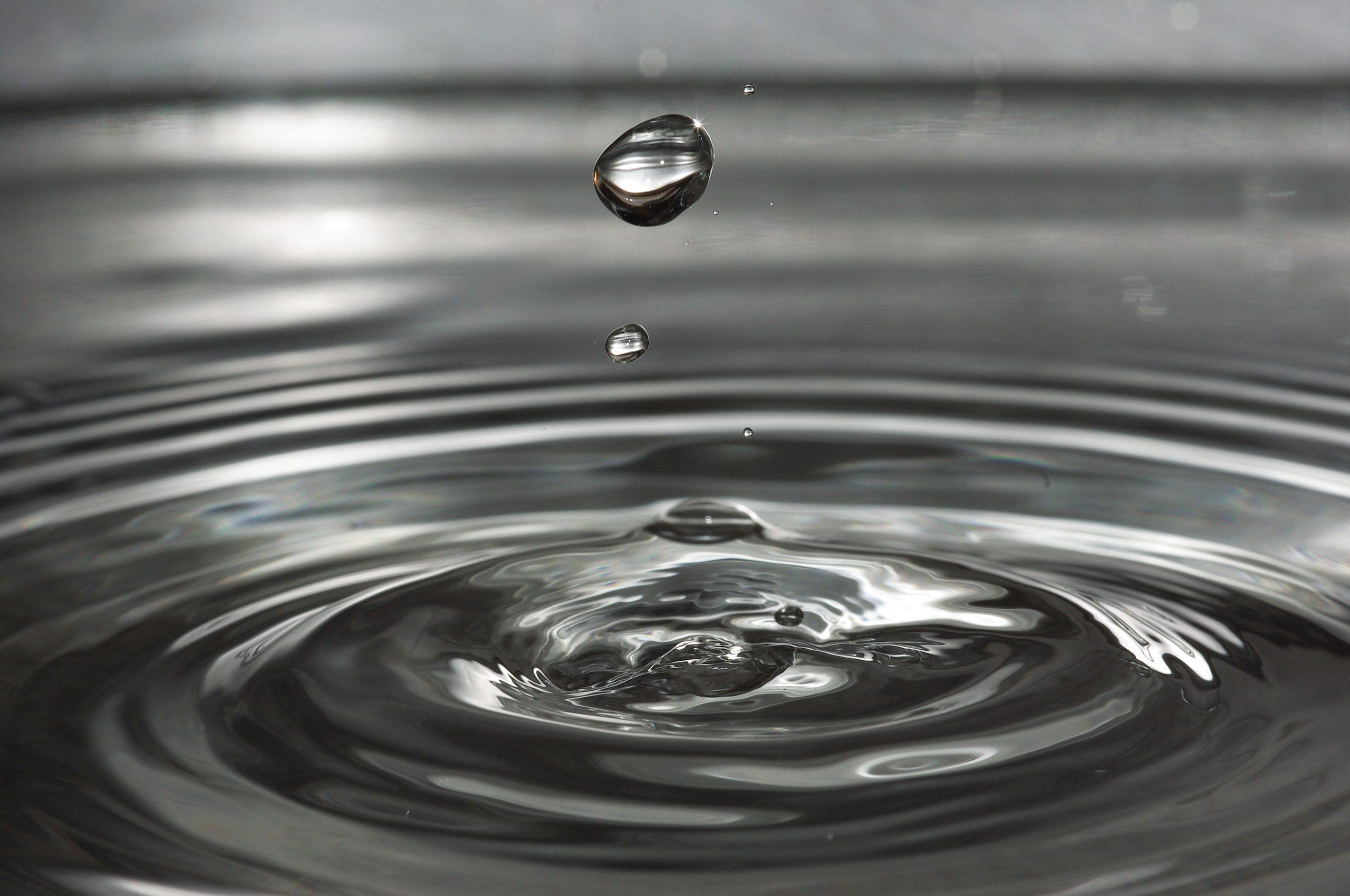 Drip Drop of Water Wave