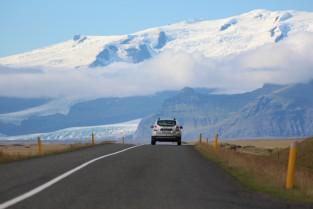 Car Driving Mountains